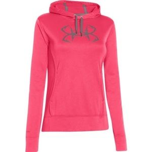 Under Armour Storm Fish Hook Logo Hoodie-Small